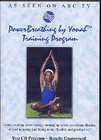 Relax and increase your energy with Yonah's PowerBreathing Training Program