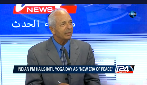 Yonah Offner on Stress Management, TV Interview